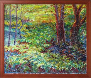 Paparčiai miške